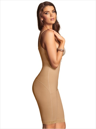 13a31a6fd Power Slimmed Mid-Thigh Body Shaper - Catherines Fashion